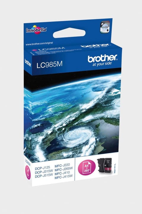 LC-985M  magenta Cartouche d'encre Brother 796010500000 Photo no. 1