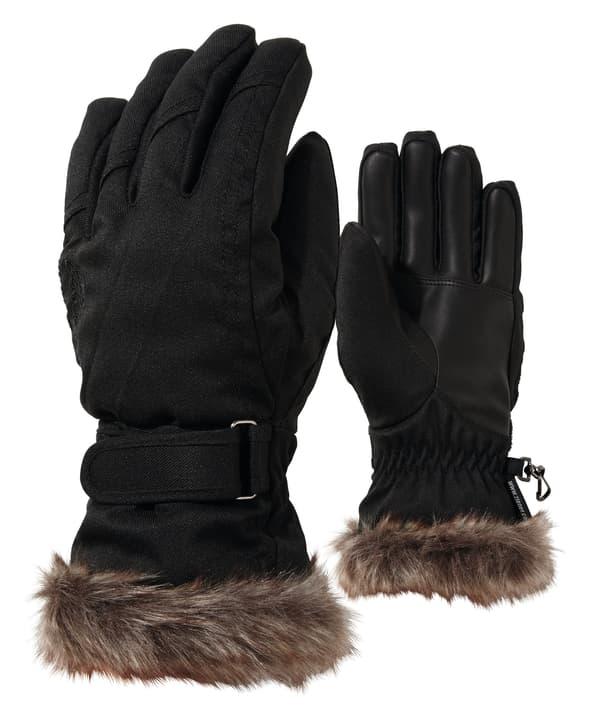 Kim Lady Damen-Skihandschuhe Ziener 496474208020 Farbe schwarz Grösse 8 Bild-Nr. 1