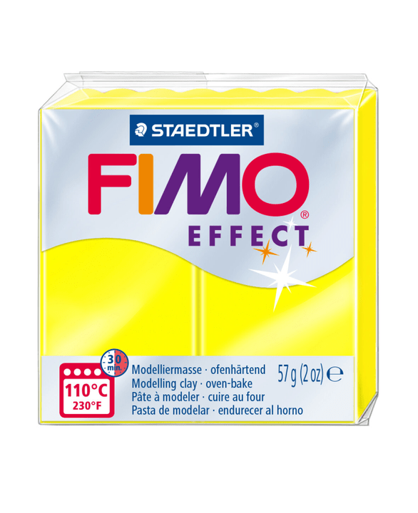 Image of FIMO effect neon gelb