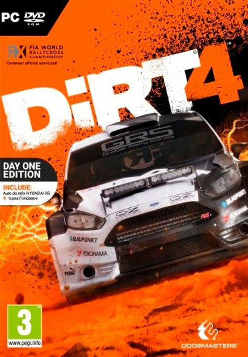 PC - DiRT 4 Day One Edition Fisico (Box) 785300122307 N. figura 1