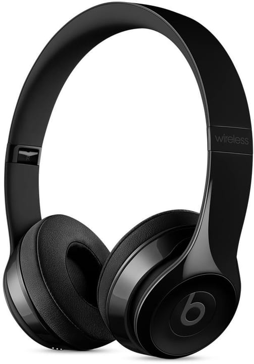 Beats Solo3 Wireless Gloss Black On-Ear Headphones Beats By Dr. Dre 78530013077917 Bild Nr. 1