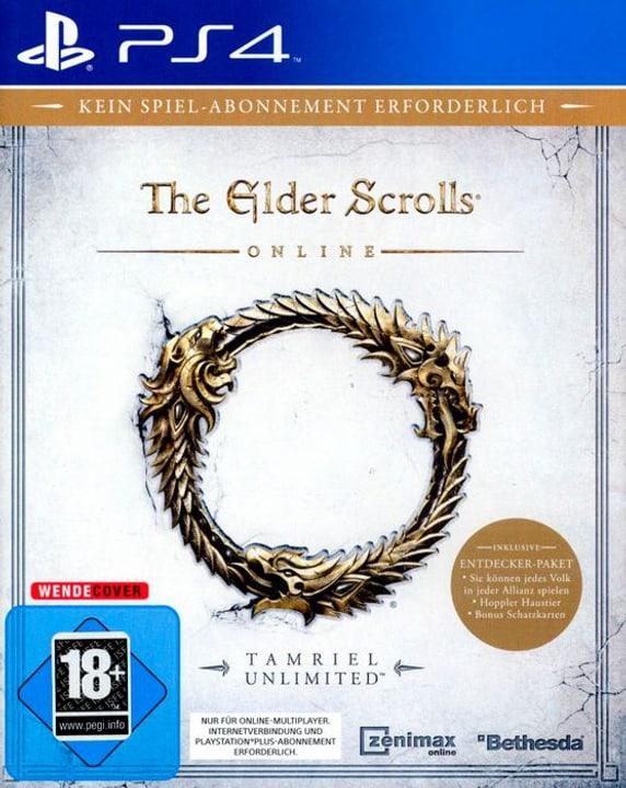 PS4 - The Elder Scrolls Online - Tamriel Unlimited D Physisch (Box) 785300132759 Bild Nr. 1