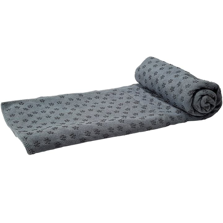 Yoga Tuch Rutschfest mit Tasche grau Tunturi 463062299980 Farbe grau Grösse one size Bild-Nr. 1
