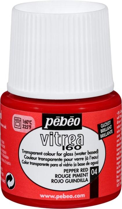 Pébéo Vitrea 160 Brillante Pebeo 663507310400 Colore Rosso Peperoncino N. figura 1