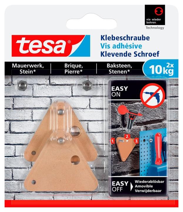 Klebeschraube Dreieckig, Mauerwerk, 10 kg Tesa 675235200000 Bild Nr. 1