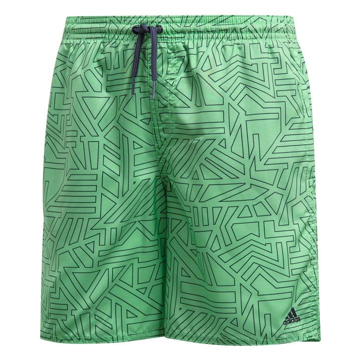 YB GR SH ML Knaben-Badeshort Adidas 464562314060 Farbe Grün Grösse 140 Bild-Nr. 1