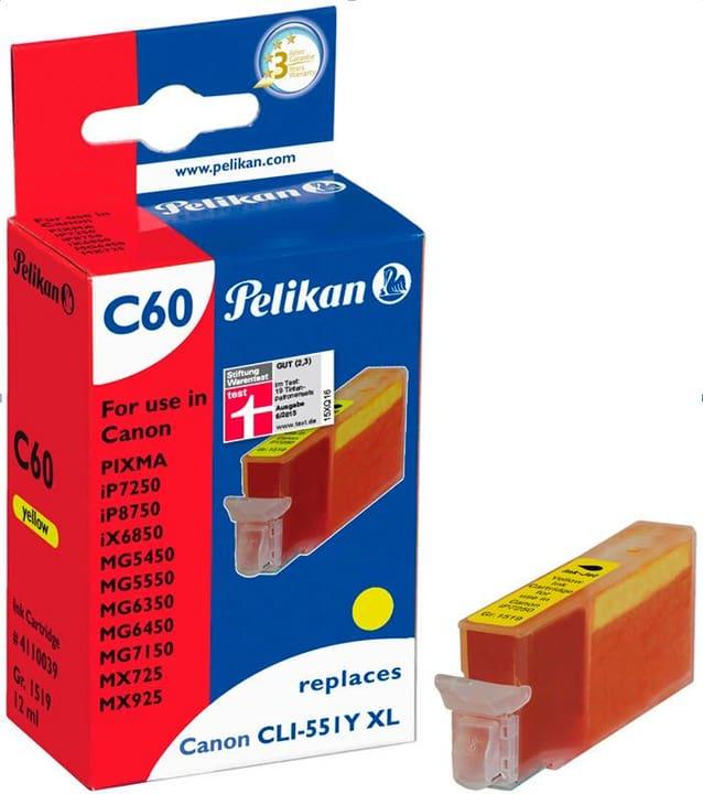 C60  gelb Tintenpatrone Pelikan 785300123293 Bild Nr. 1