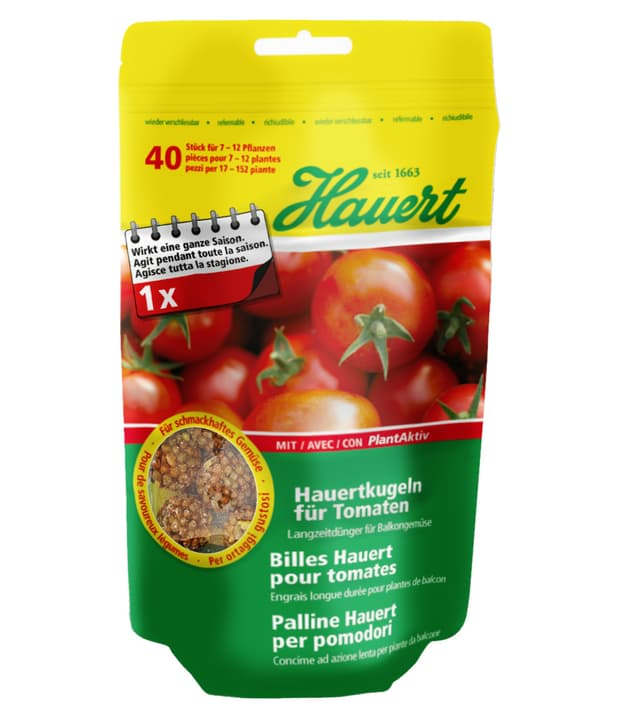 Palline per pomodori Hauert 658232100000 N. figura 1