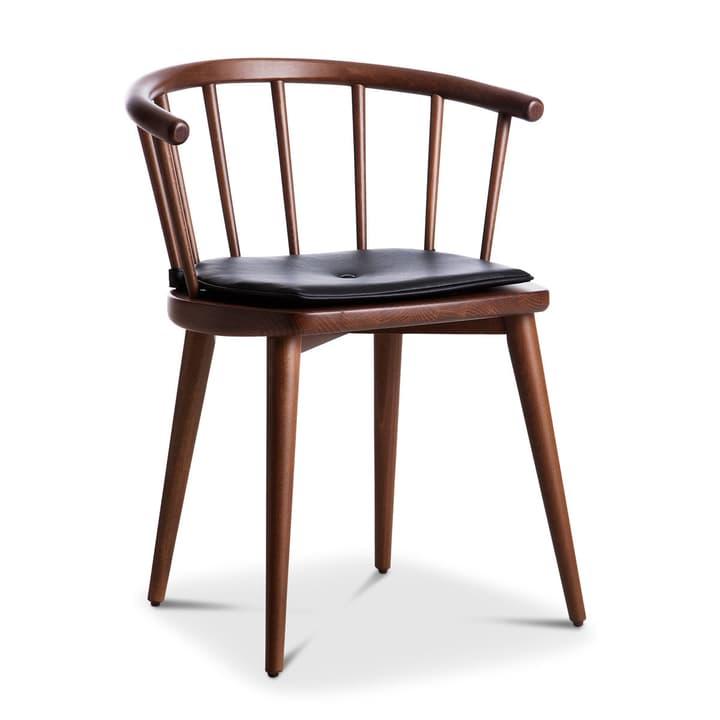 W605 chaise hêtre noyer Chaise 366027070501 Dimensions L: 59.5 cm x P: 49.0 cm x H: 72.0 cm Couleur Noyer Photo no. 1