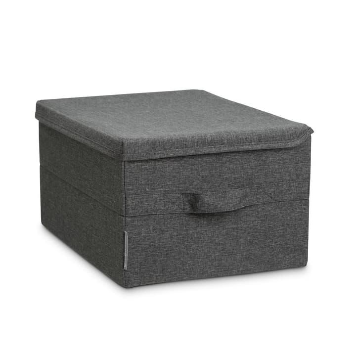 LISKA boîte pour vêtements 386150500000 Dimensions L: 40.0 cm x P: 30.0 cm x H: 22.0 cm Couleur Gris Photo no. 1