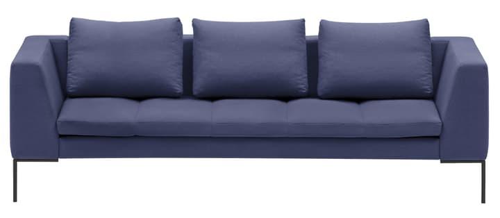 BADER 3er-Sofa 405686430340 Grösse B: 238.0 cm x T: 105.0 cm x H: 80.0 cm Farbe Blau Bild Nr. 1