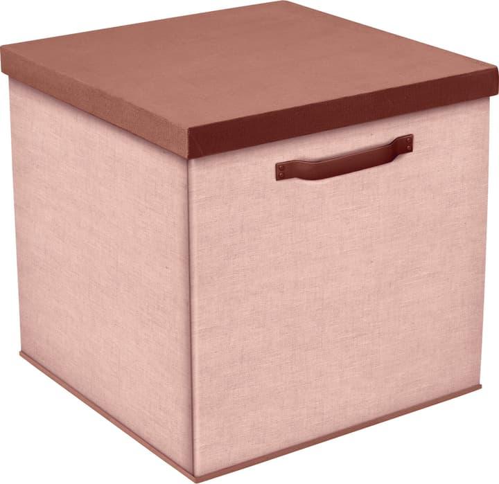 ROSA Box Flexa 404690800038 Grösse B: 30.5 cm x T: 30.5 cm x H: 31.5 cm Farbe Rosa Bild Nr. 1