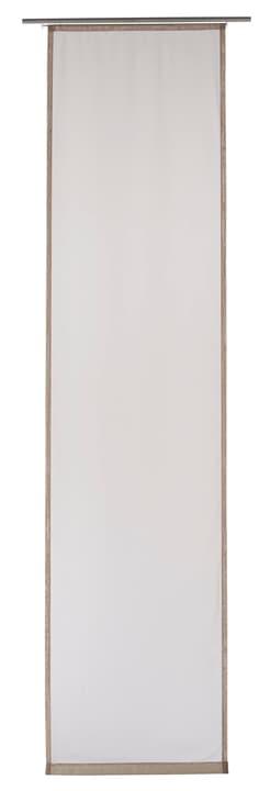 ELME Panneau japonais 430569430469 Couleur Taupe Dimensions L: 60.0 cm x H: 245.0 cm Photo no. 1