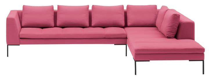 BADER Ecksofa 405686450638 Grösse B: 319.0 cm x T: 230.0 cm x H: 80.0 cm Farbe Rosa Bild Nr. 1