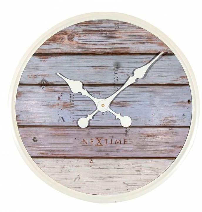 Orologio da parete Plank Grigio diametro 50 cm Horologe murale NexTime 785300138506 N. figura 1