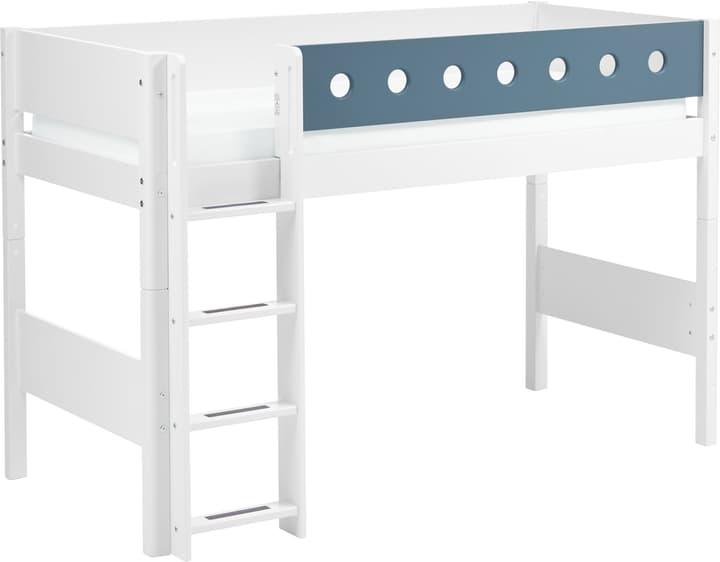 WHITE Letto semialto Flexa 404999000000 Colore Blu Dimensioni L: 110.0 cm x P: 210.0 cm x A: 143.0 cm N. figura 1