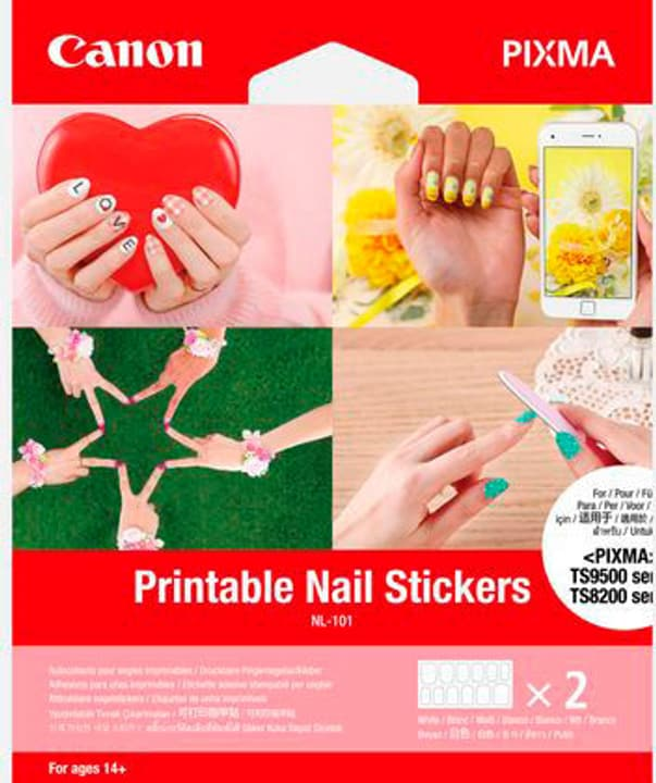 Canon NL-101 stickers ongles imprimables 24 Stickers Canon 798257300000 Photo no. 1