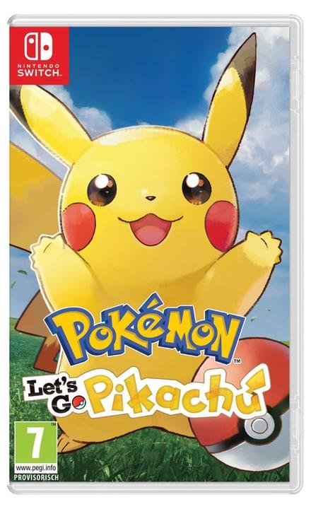 Switch - Pokémon: Let´s Go, Pikachu ! (D) Physique (Box) 785300136734 Photo no. 1