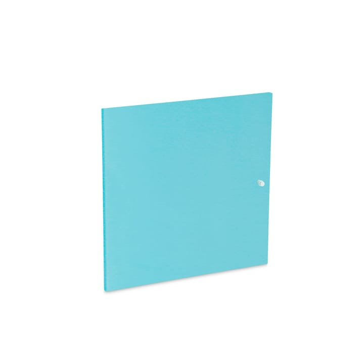 VIDO Türe klein 362010773705 Grösse B: 37.0 cm x T: 37.0 cm x H: 1.2 cm Farbe Hellblau Bild Nr. 1
