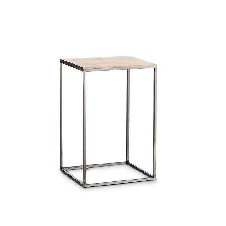 COFFEE Tavolino accostabile 362256400000 Dimensioni L: 30.0 cm x P: 30.0 cm x A: 46.0 cm Colore Frassino bianco N. figura 1