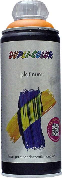 Vernice spray Platinum opaco Dupli-Color 660800200002 Colore Arancia fresca Contenuto 400.0 ml N. figura 1
