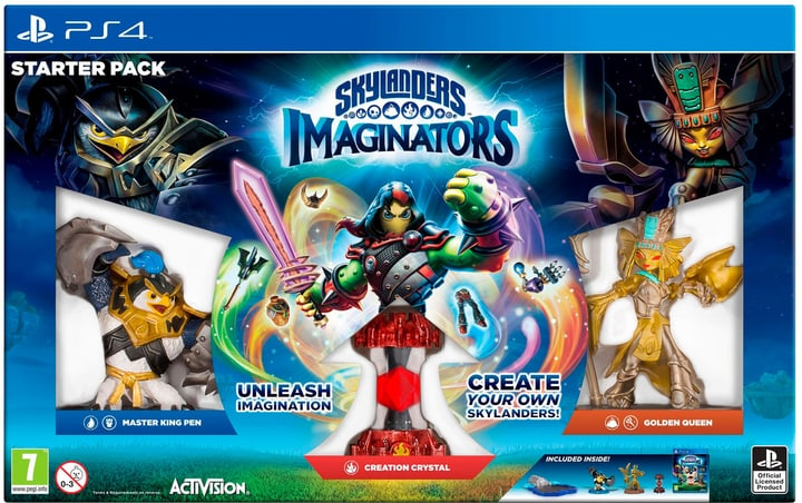 PS4 - Skylanders Imaginators Starter Pack Physique (Box) 785300121338 Photo no. 1