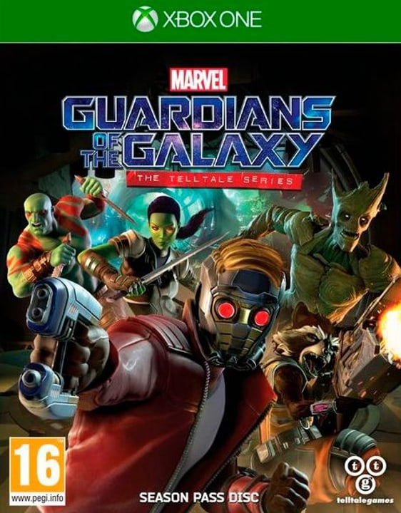 Xbox One - Guardians of the Galaxy - The Telltale Series Box 785300122155 Bild Nr. 1