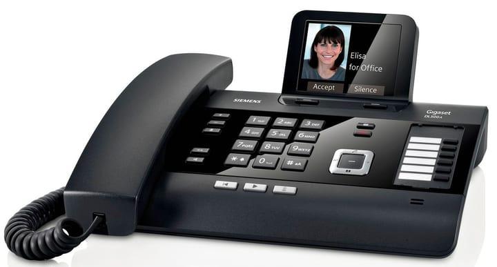 DL500A noir Téléphone fixe Gigaset 785300123474 Photo no. 1