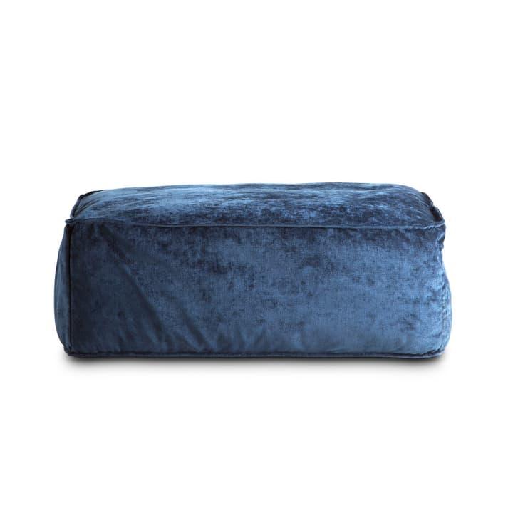 VESTA pouf 360019820716 Dimensions L: 94.0 cm x P: 66.0 cm x H: 36.0 cm Couleur Bleu foncé Photo no. 1