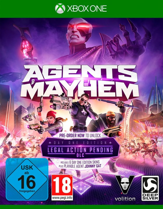 Xbox One - Agents of Mayhem Day One Edition Physique (Box) 785300122590 Photo no. 1