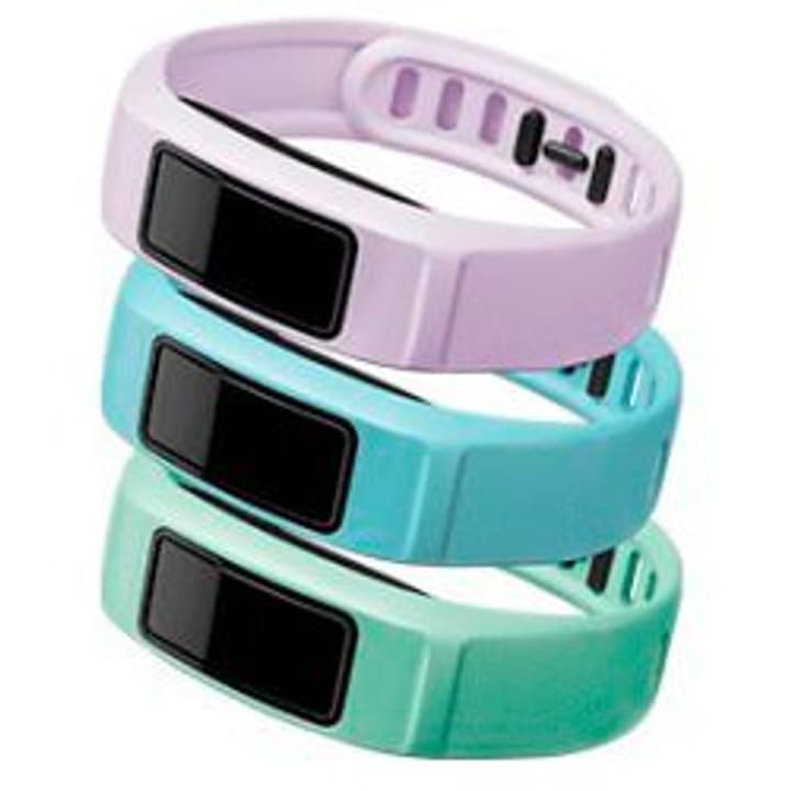 Vivofit 2 bracelet Large lilas, bleu clair, vert clair Garmin 785300125459 Photo no. 1