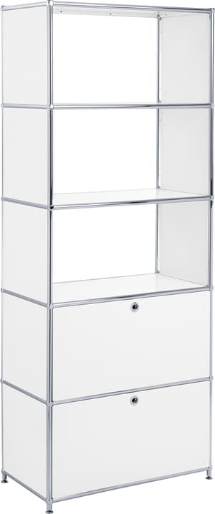 FLEXCUBE Etagère 401815510510 Dimensions L: 77.0 cm x P: 40.0 cm x H: 193.0 cm Couleur Blanc Photo no. 1