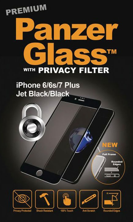 Premium schwarz Schutzfolie Panzerglass 785300134569 Bild Nr. 1
