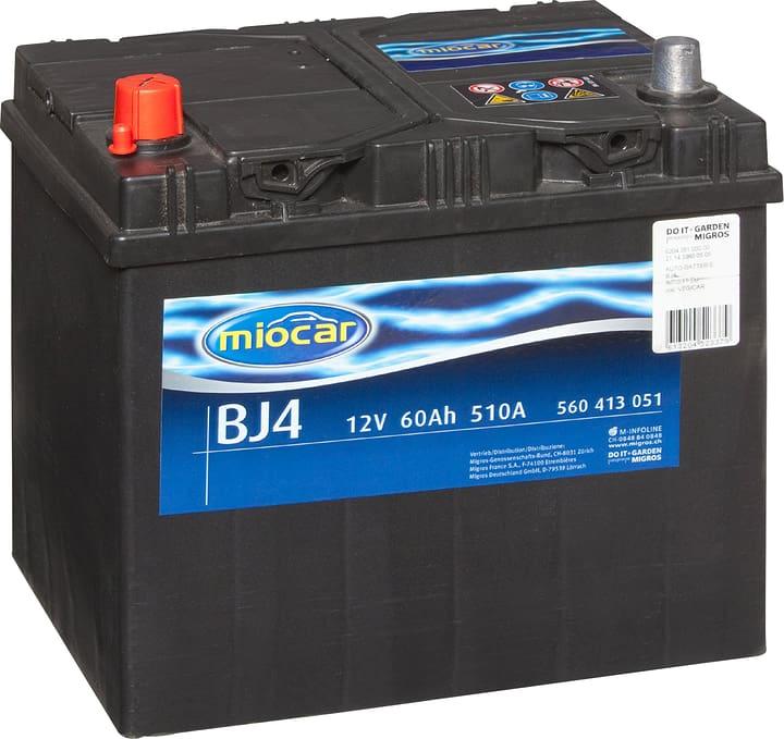 BJ4 60Ah Autobatterie Miocar 620429100000 Bild Nr. 1