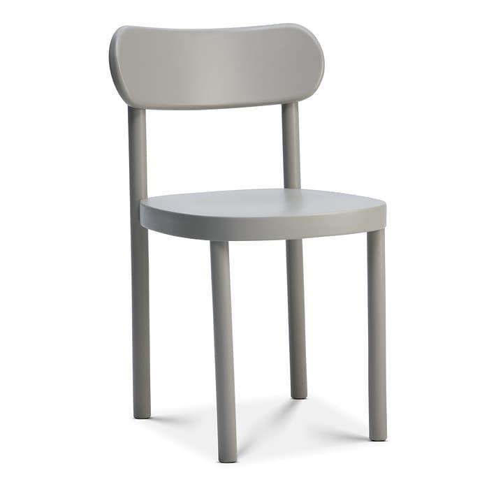 SILEX Chaise Edition Interio 366139700080 Couleur Gris Dimensions L: 44.0 cm x P: 45.0 cm x H: 78.0 cm Photo no. 1