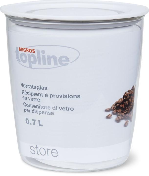 STORE Vorratsglas 0.7L M-Topline 703729300002 Farbe Transparent, Weiss Grösse H: 11.0 cm Bild Nr. 1
