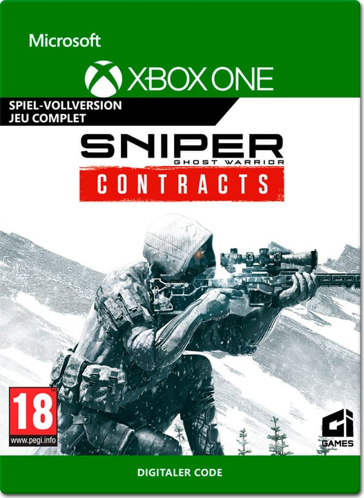 Xbox One - Sniper: Ghost Warrior (ESD) Download (ESD) 785300150900 Photo no. 1
