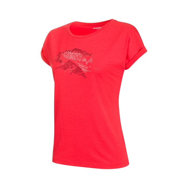 Mountain Damen-Shirt Mammut 465738600517 Farbe himbeer Grösse L Bild-Nr. 1