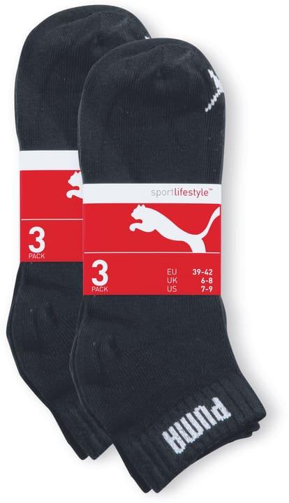 Quarter 6er Pack Freizeitsocken Puma 497143539320 Farbe schwarz Grösse 39-42 Bild-Nr. 1
