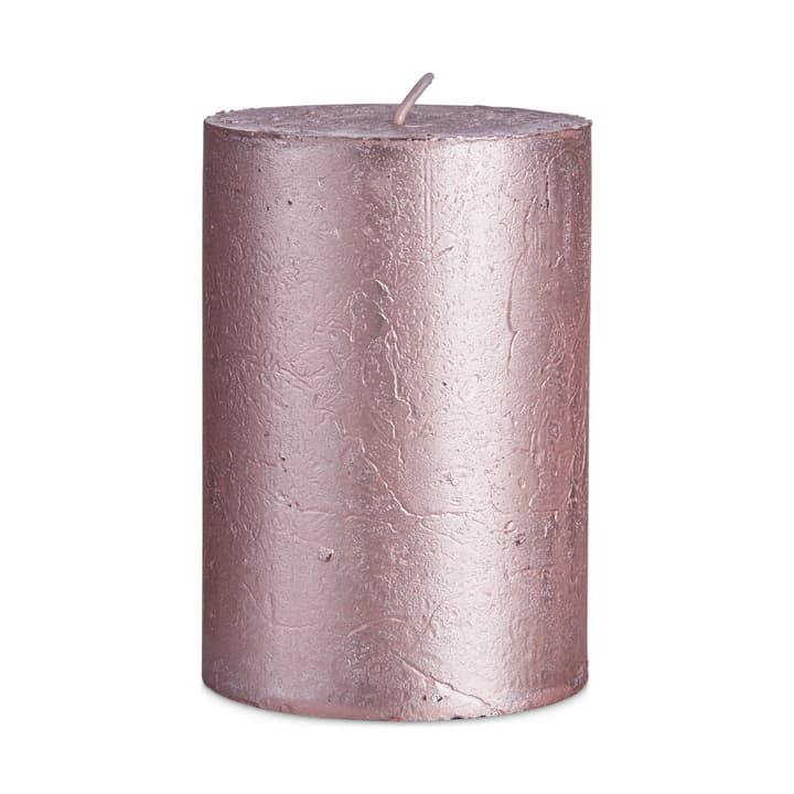 IM ZYLINDERKERZE rosa glänzend D7xH10cm 390260100000 N. figura 1