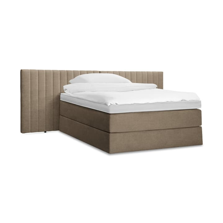 GRACE Lit Boxspring 364289700000 Dimensions L: 200.0 cm x P: 160.0 cm Couleur Taupe Photo no. 1