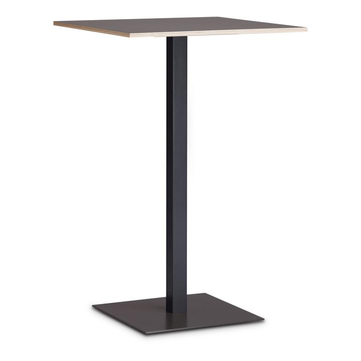 MILTON Tavolino da bar 366154300000 Dimensioni L: 70.0 cm x P: 70.0 cm x A: 106.6 cm Colore Nero N. figura 1