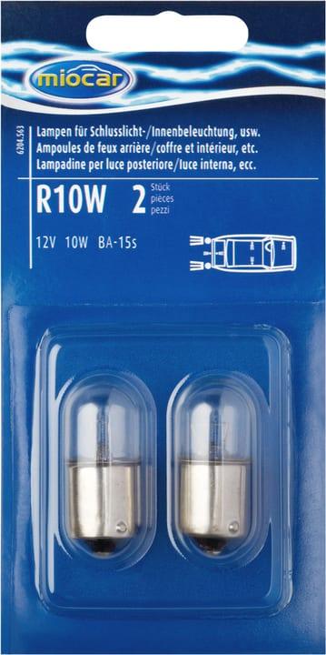 Lampes à incandescence R10W pour feu arrière/intérieur Ampoule Miocar 620456300000 Photo no. 1