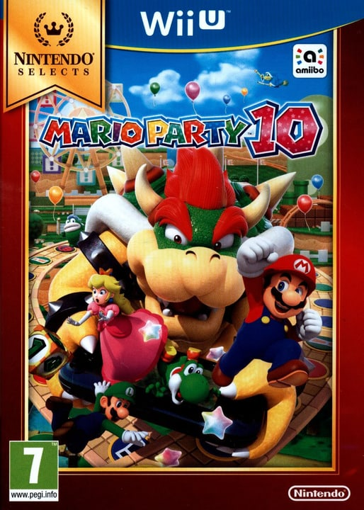 Wii U - Selects : Mario Party 10 Physique (Box) 785300121750 Photo no. 1