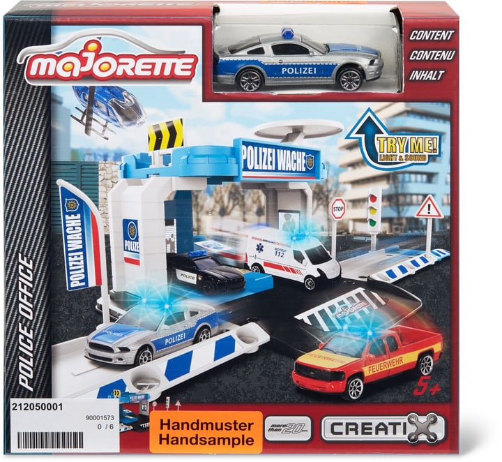 Creatix Police Office + 1 Car 746216700000 Bild Nr. 1