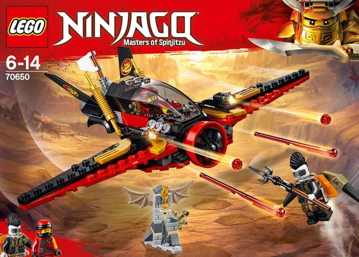 Lego Ninjago L'ala del destino 70650 748881100000 N. figura 1