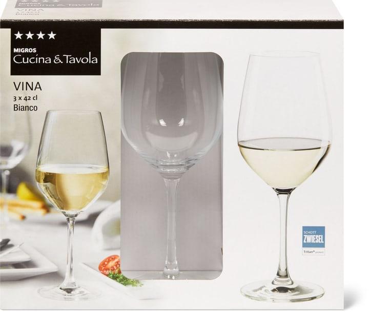 VINA Bianco Cucina & Tavola 701132400002 Dimensioni A: 21.7 cm Colore Transparente N. figura 1