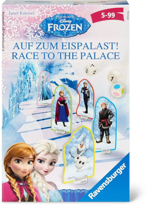 Frozen Race to the palace 747434100000 N. figura 1