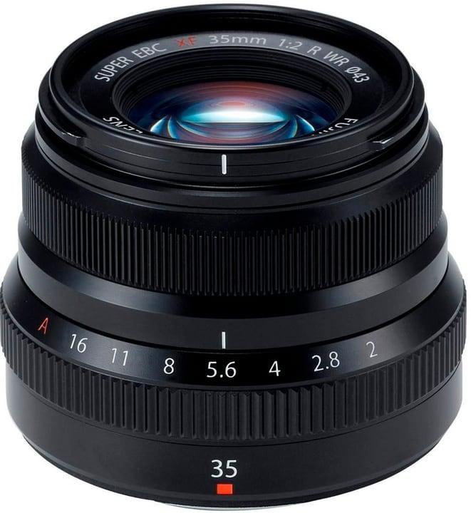 XF 35mm F2 R WR Black Objectif FUJIFILM 785300129917 Photo no. 1