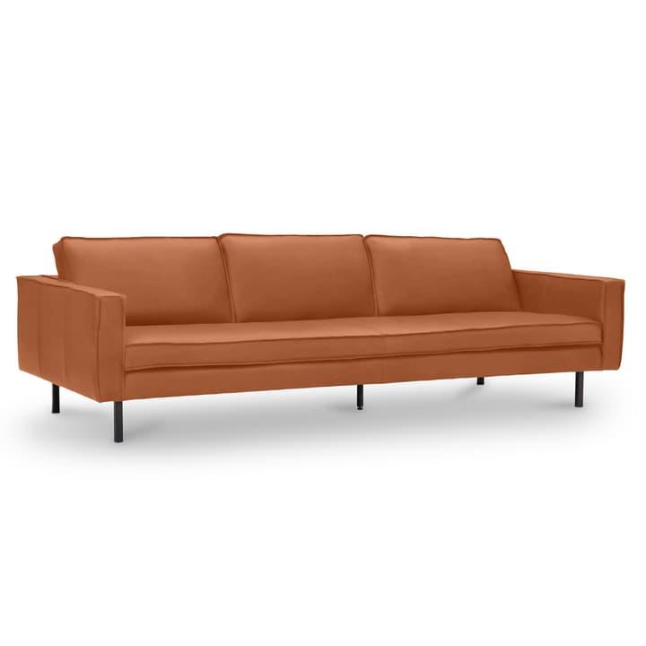 TEXADA divano in pelle da 4 posti 360020328710 Dimensioni L: 241.0 cm x P: 95.0 cm x A: 61.0 cm Colore Tabacco N. figura 1